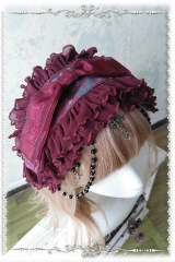 Infanta -Milu Kingdom- Lolita Headband with Bead Chains