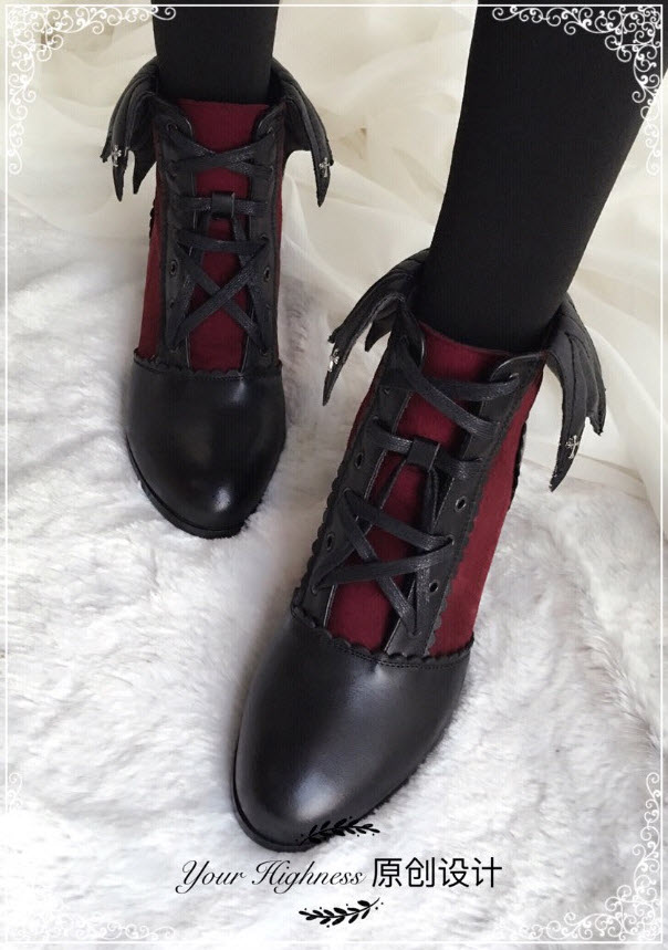 Your Highness Vampire Of The Night Gothic Lolita Boots
