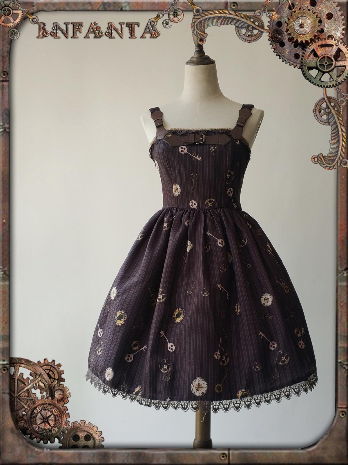 6d18a2b046e Details of Infanta -Antique Mechanical Doll- Steampunk Lolita Casual Lolita  JSK