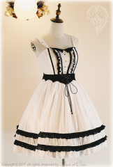 -The Devil Bat- Gothic Halloween Themed Lolita Jumper Dress
