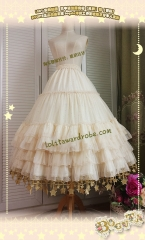 Boguta -Starry Night- Sweet Lolita Skirt Under Skirt Version II