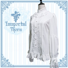 Immortal Thorn -The Forever Rose- Ouji Lolita Blouse