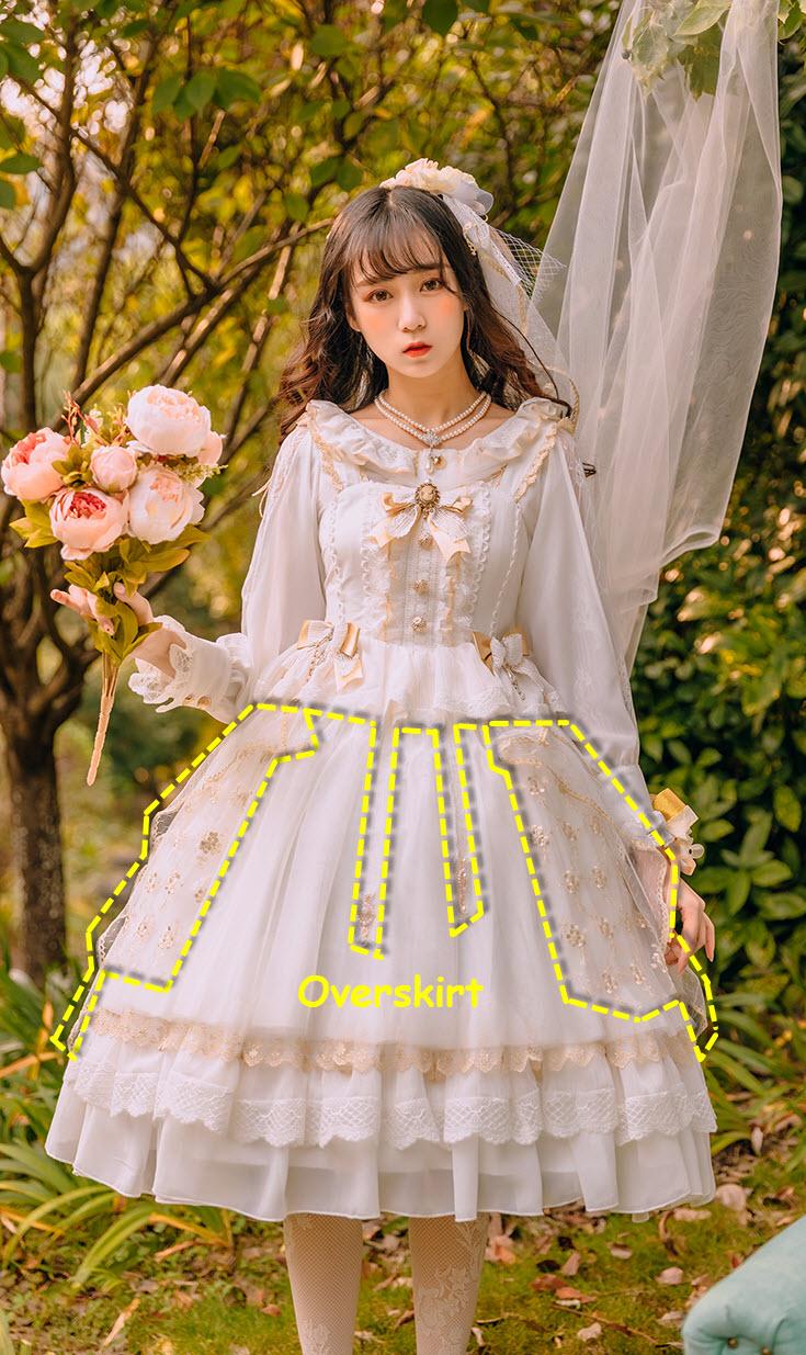 Fantastic Wind -Ukulele- Vintage Classic Lolita JSK