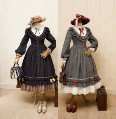 Fantastic Wind -The Florentine Traveller- Classic Lolita OP Dress