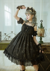 Vcastle -The Starry Sky- New Version Lolita Jumper Dress