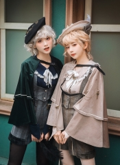 Magician's Four Seasons Ouji Lolita Short Cape