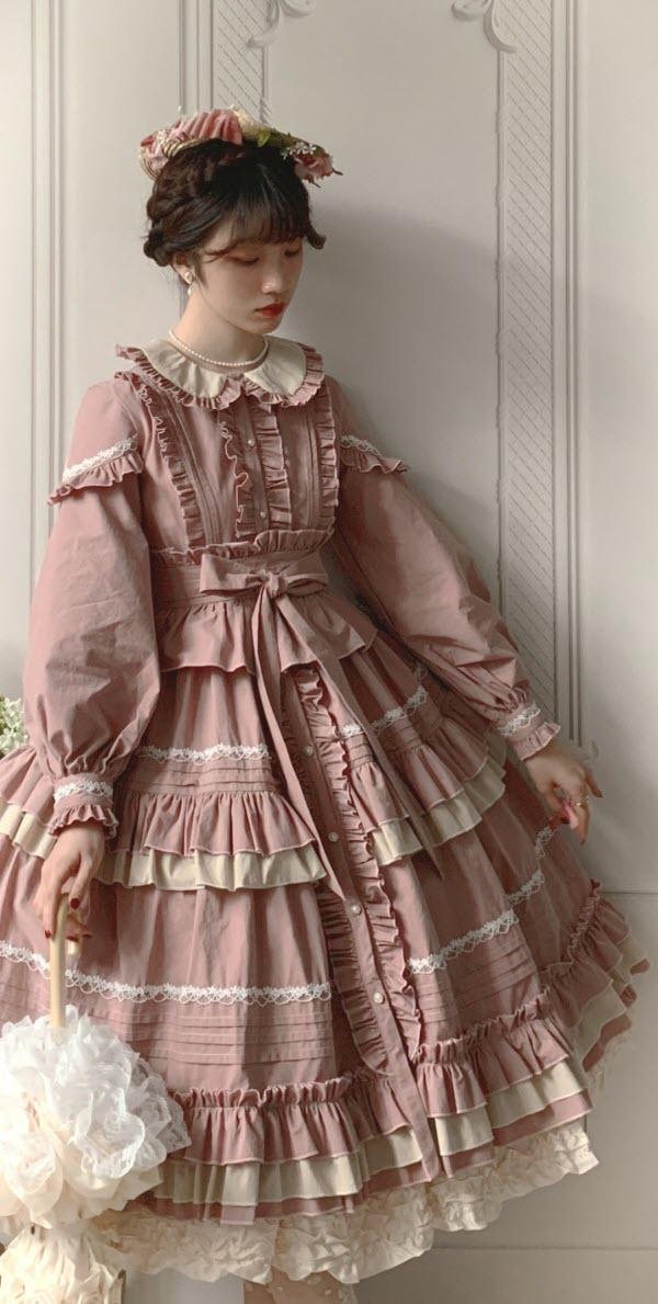 Yolanda -Miss Spencers Self-portrait- Classic Lolita OP Dress