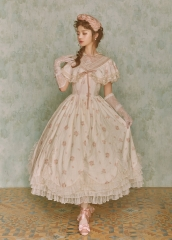 Lullaby -Flower ZhanFang- Vintage Classic Lolita OP Dress Version III