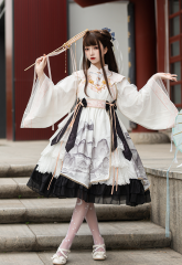 BaolegeMao -Ling YinFu- Qi Lolita OP Dress Set