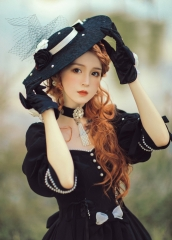 Black Fairytale -The Mysterious Rose- Vintage Classic Lolita Accessories