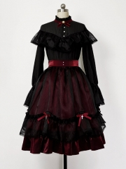 Princess Chronicles -Gothic Princess- Gothic Lolita Blouse and Skirt