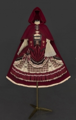 SanYeTing -Little Red Riding Hood- Lolita JSK, Cape and Blouse